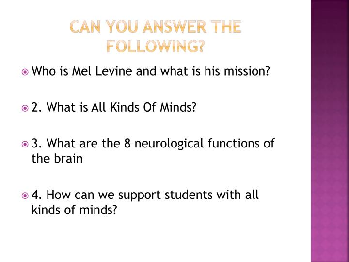 Can you answer the following?
