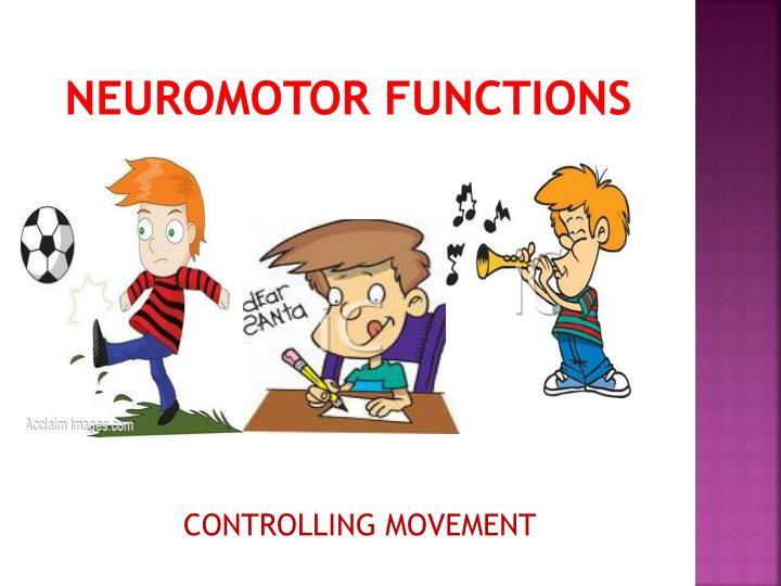Neuromotor Functions