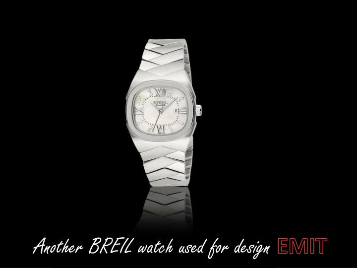 Another BREIL watch used for