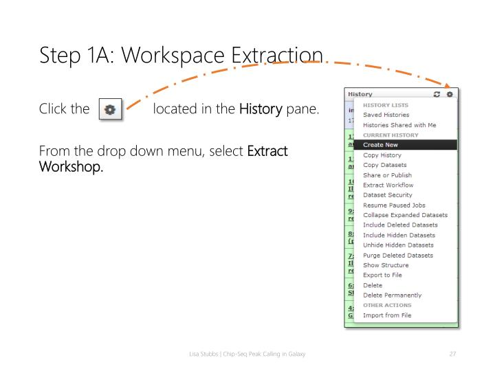 Step 1A: Workspace Extraction