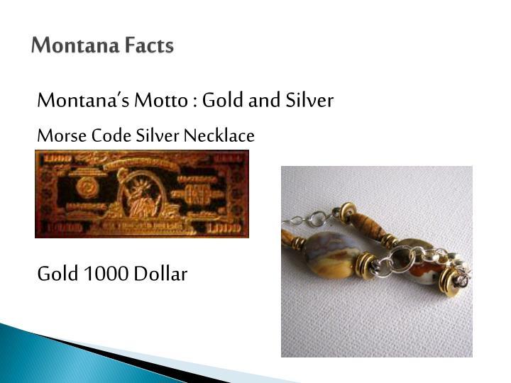 Montana Facts