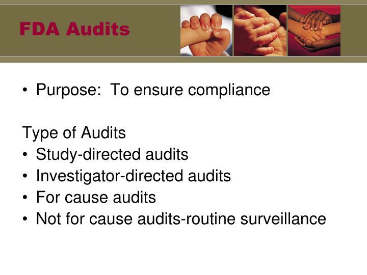 FDA Audits
