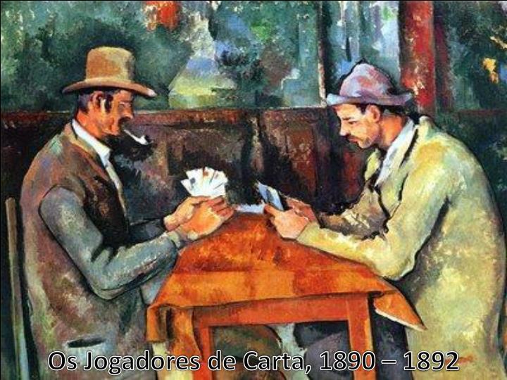 Os Jogadores de Carta, 1890 – 1892