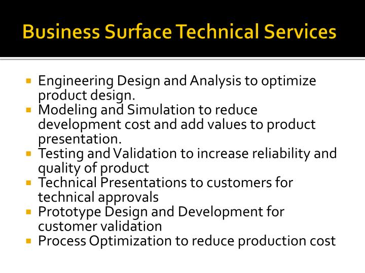 Business Surface Technical Services