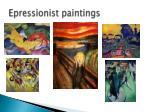 epressionist paintings
