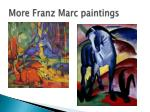 more franz marc paintings