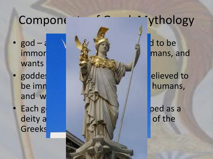 Components of Greek Mythology