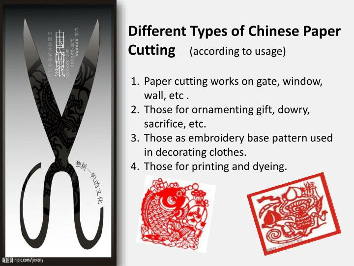 Different Types of Chinese Paper Cutting