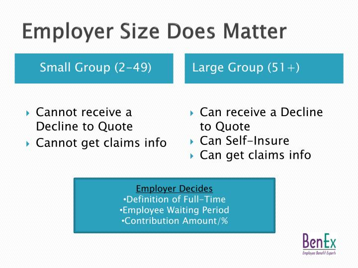 Employer Size Does Matter