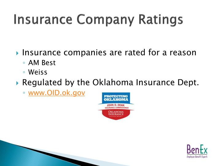 Insurance Company Ratings