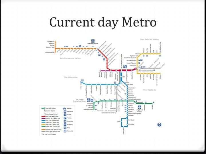 Current day metro