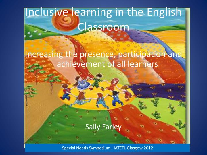 inclusive learning in the english classroom n.