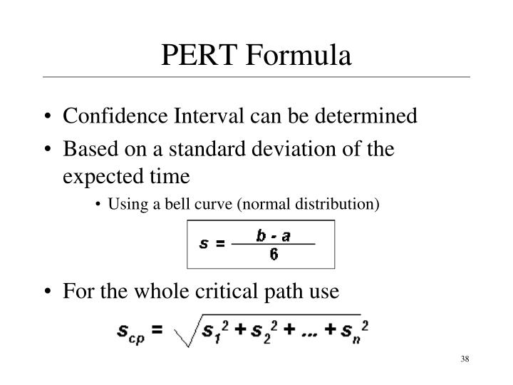 PERT Formula