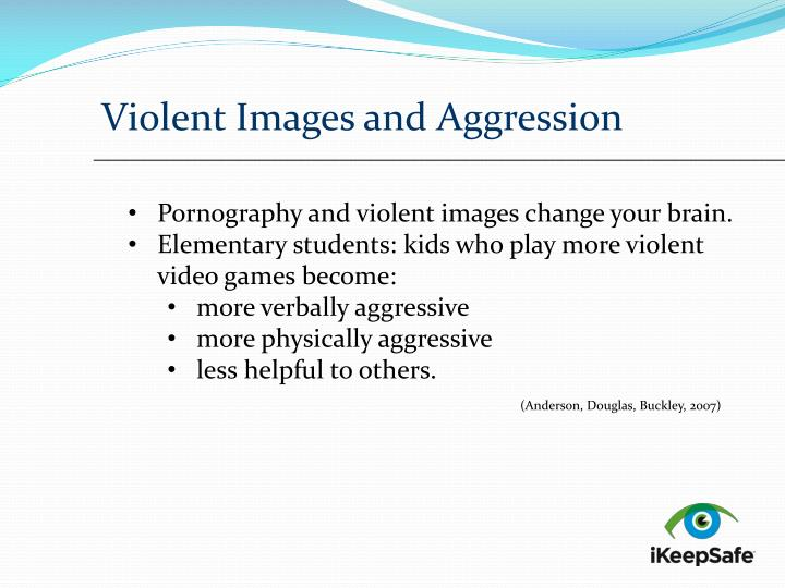 Violent Images and Aggression