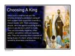 choosing a king3
