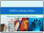 ovec s literacy vision