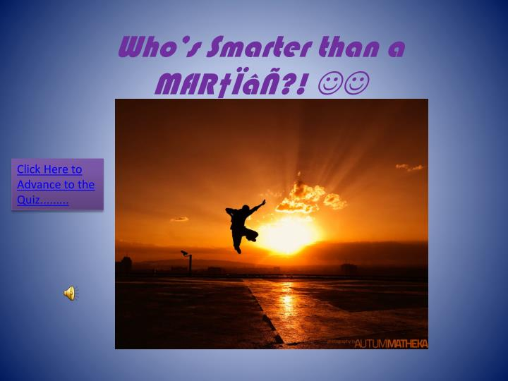 who s smarter than a m r n.