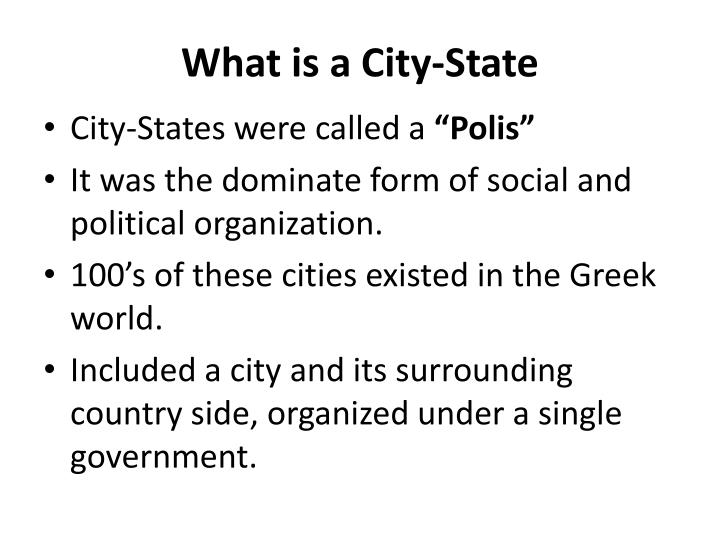 What is a City-State
