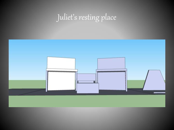 Juliet s resting place