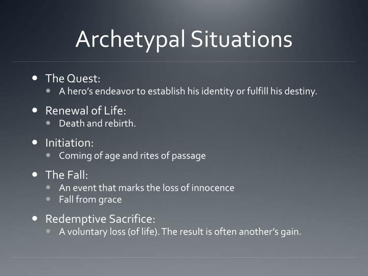 Archetypal Situations