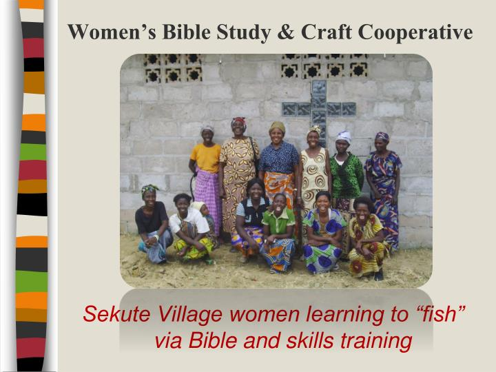 Women's Bible Study & Craft Cooperative
