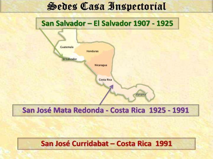 San Salvador – El Salvador 1907 - 1925
