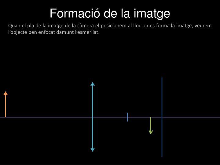 Formació de la imatge