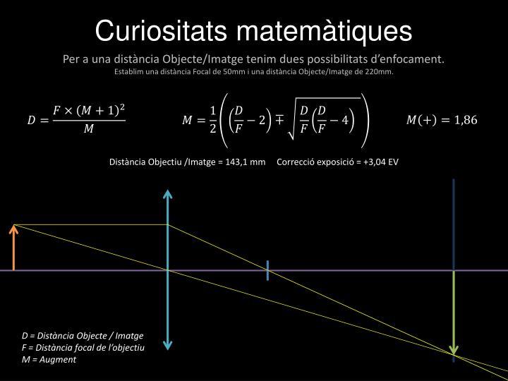 Curiositats matemàtiques