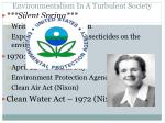 environmentalism in a turbulent society