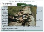 nixon kissinger and the war