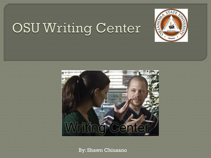 osu writing center n.