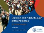 children and aids through different lenses1