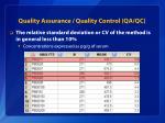 quality assurance quality control qa qc1