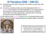 iii theodora 500 548 ce