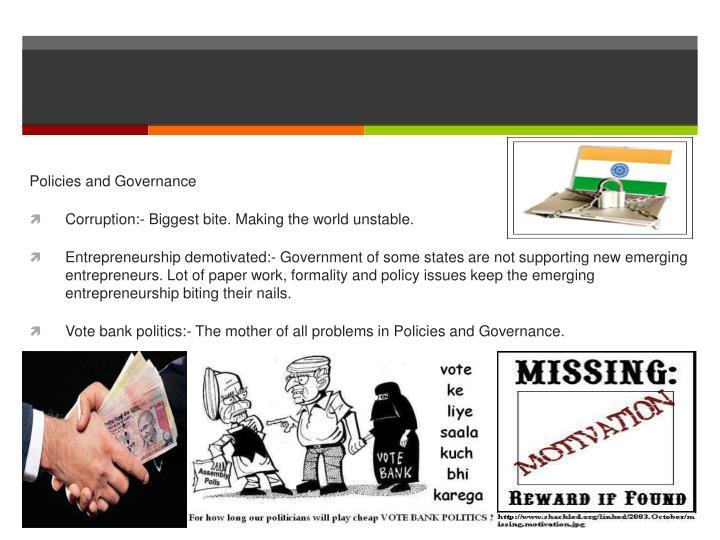 Policies and Governance