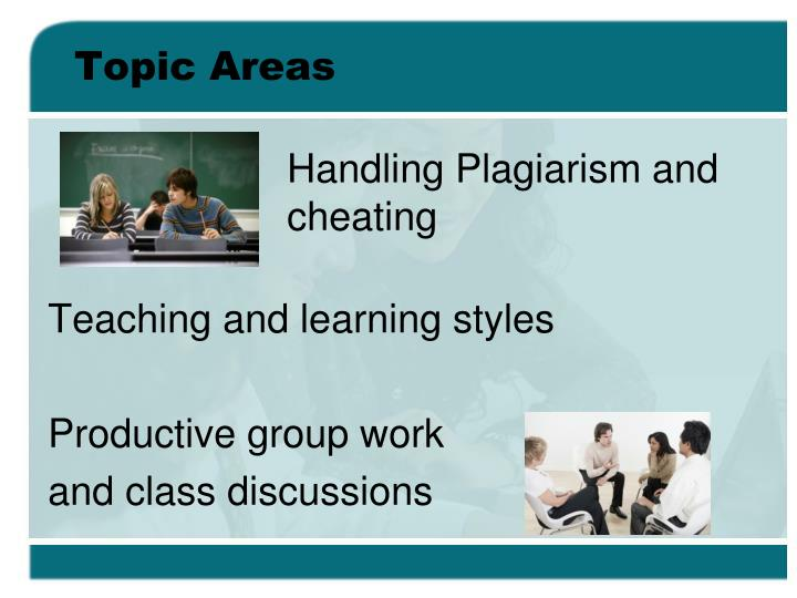 Topic Areas