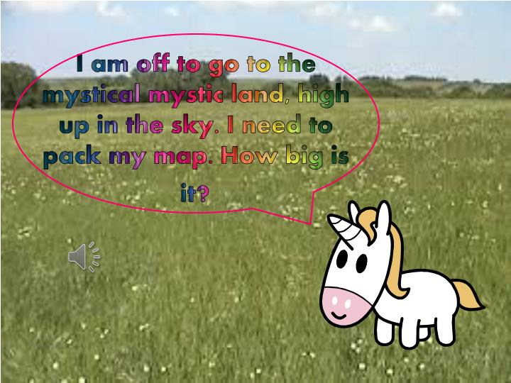 I am off to go to the mystical mystic land high up in the sky i need to pack my map how big is it