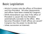 basic legislation1