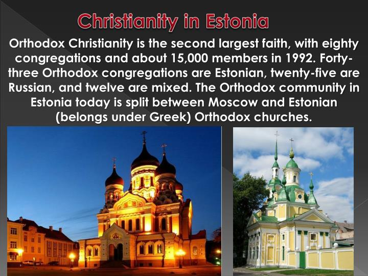 Christianity in Estonia