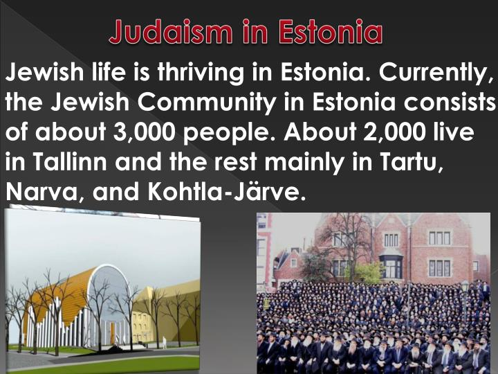 Judaism in Estonia