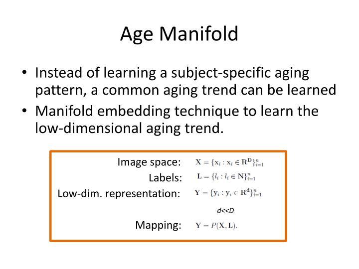 Age Manifold