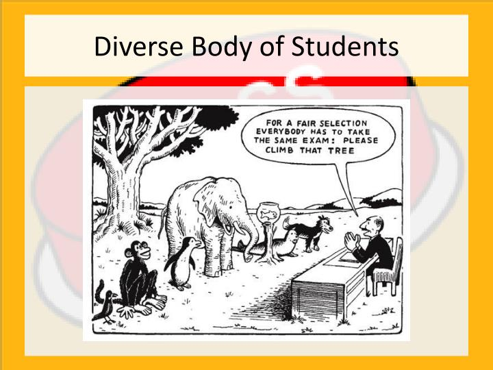 Diverse Body of Students