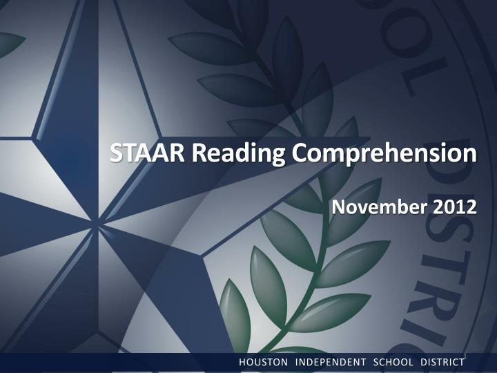 STAAR Reading Comprehension