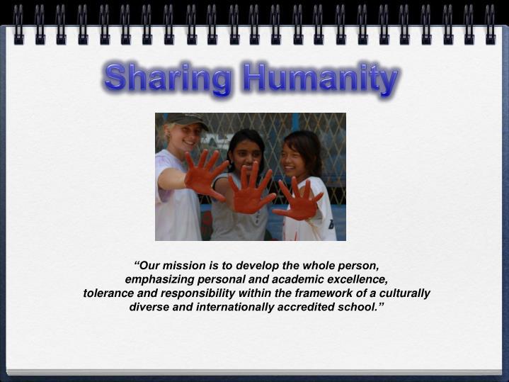 Sharing Humanity