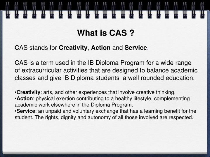 What is CAS