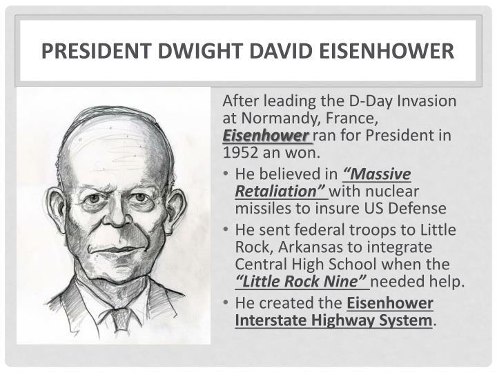 President dwight david eisenhower