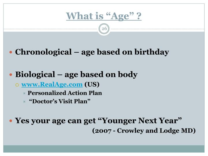 """What is """"Age"""" ?"""