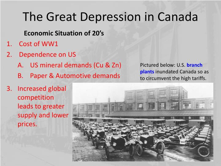 The great depression in canada2