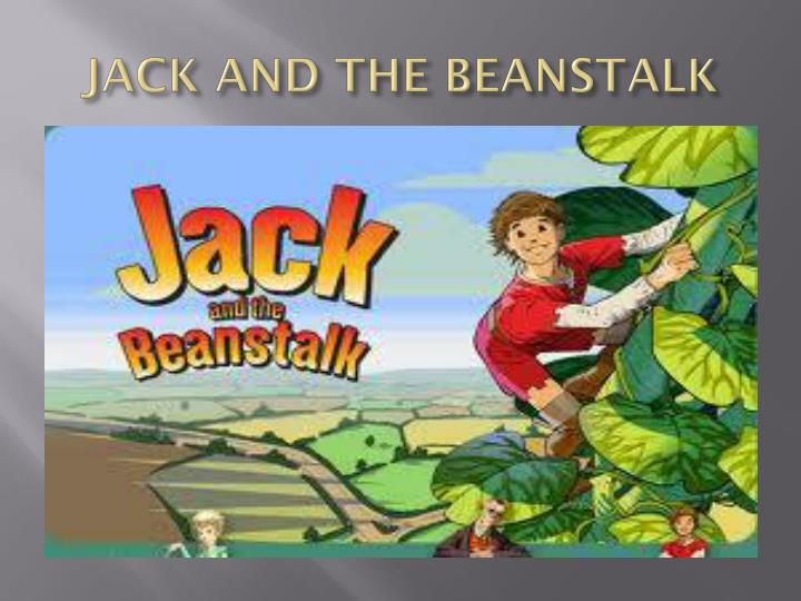 jack and the beanstalk n.