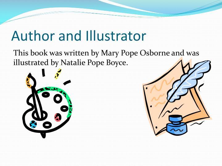 Author and illustrator